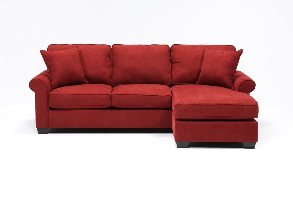 Yvonne Sofa W/Reversible Chaise   Living Spaces
