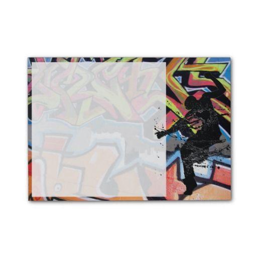 Hip Hop Graffiti Dancer Personalized Post-it® Notes
