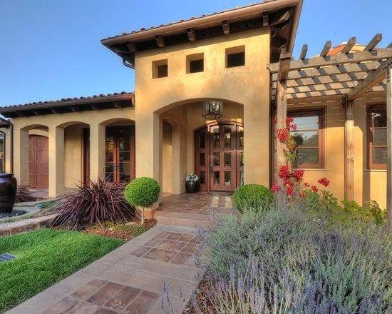 Fachadas de casas mediterranea fotos de fachadas de for Fachadas de casas estilo clasico