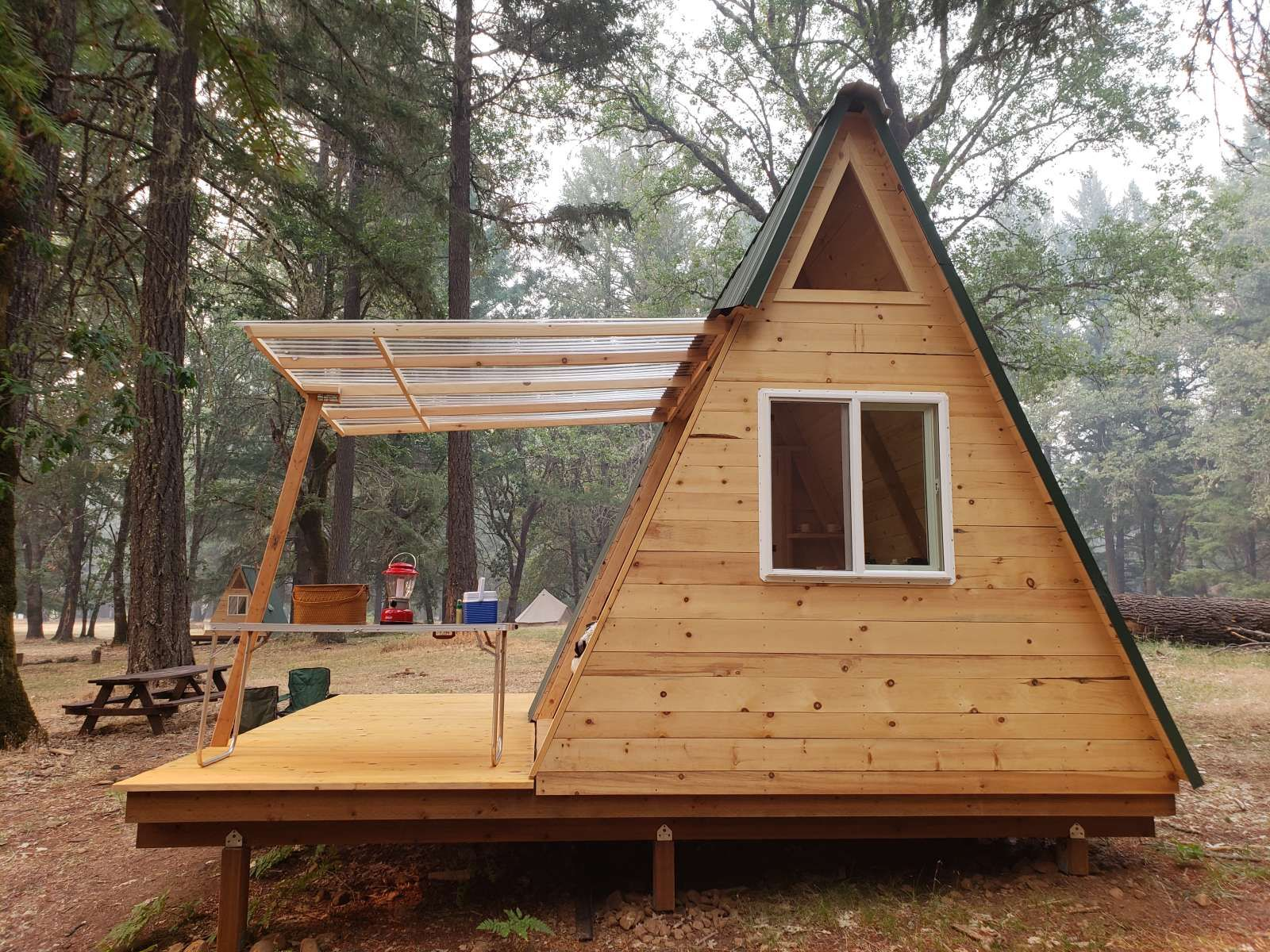 Star A Frame Tiny Cabin Cedar Bloom Or 56 Hipcamper Reviews And 77 Photos Tiny House Cabin Tiny Cabin A Frame Cabin