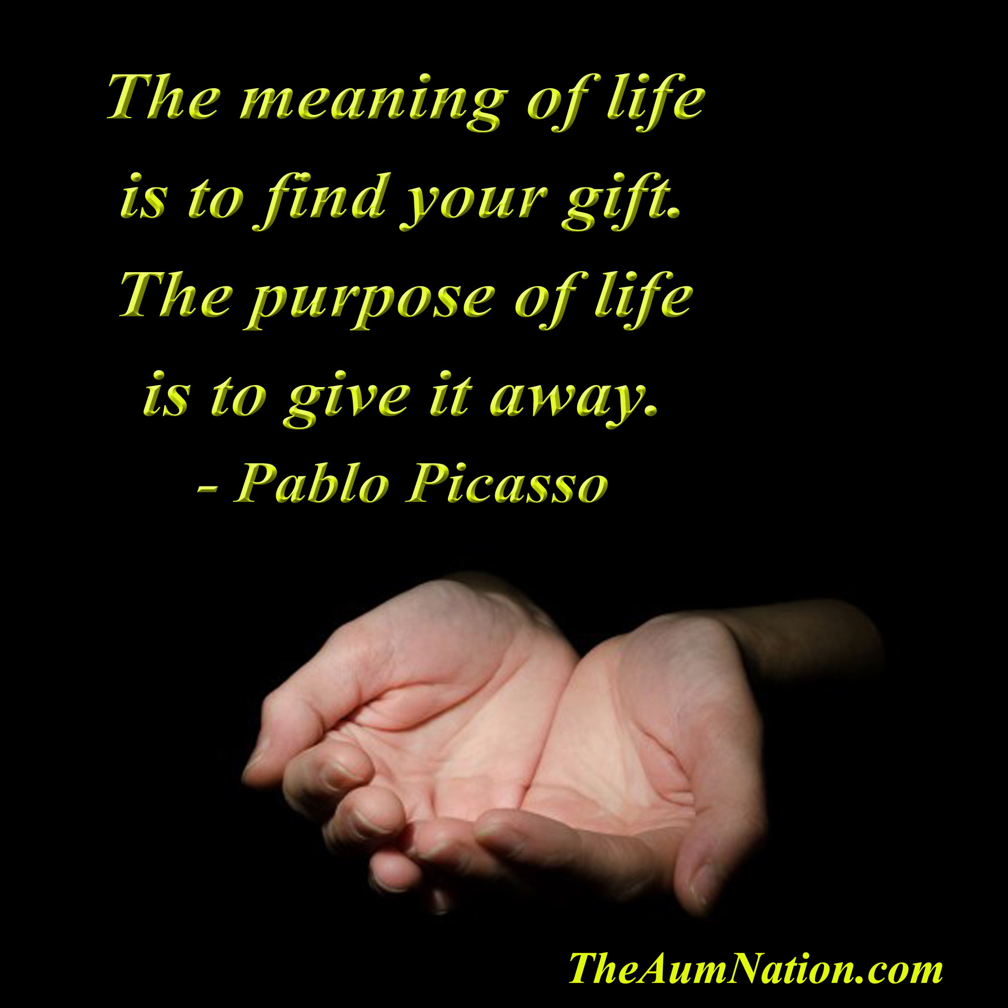 Quotes About The Purpose Of Life The Meaning Of Life Is To Find Your Giftthe Purpose Of Life Is