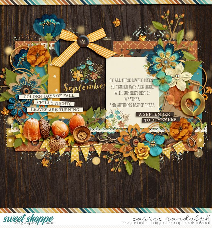 A September to Remember: COLLECTION *FWP* by Studio Flergs #ssd #sweetshoppe…