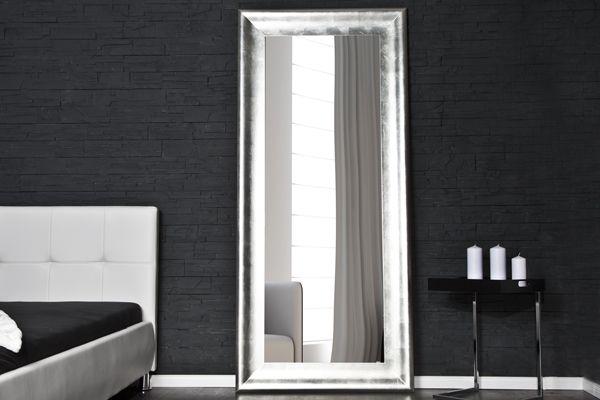 Spiegel Standspiegel imposanter design standspiegel brillado silber 190x90cm spiegel bei