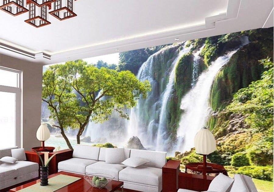 Paling Bagus 23 Lukisan Dinding Ruang Tamu 3 Dimensi Lukisan Dinding Ruang Tamu 3d Sabalukisan 60 Motif Wallpaper Dindin Di 2020 Lukisan Dinding Pemandangan Lukisan