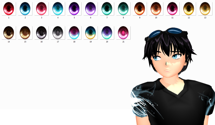 MMD Eyes texture download by TotodileDash | y | Eye texture