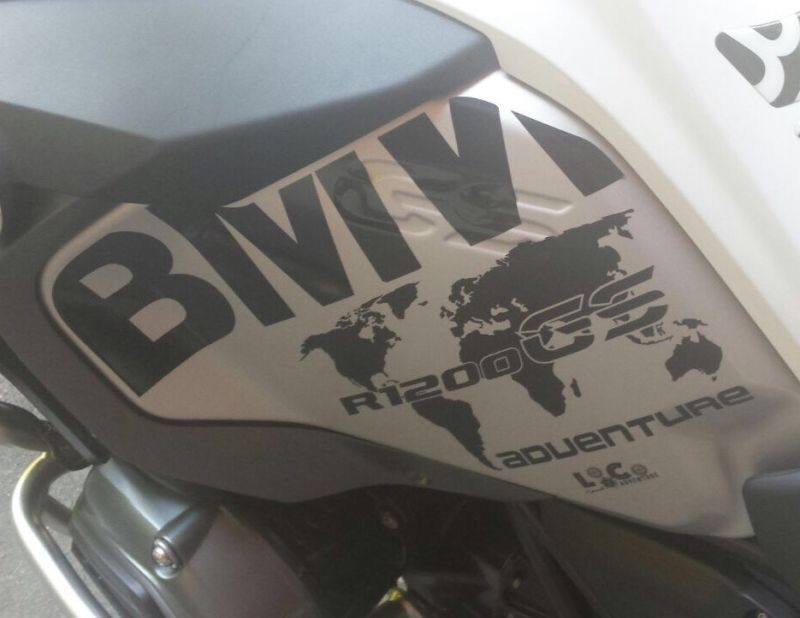 BMW R GS LC SERBATOIO TANK Adesivi Adhesives - Bmw motorcycle stickers decals