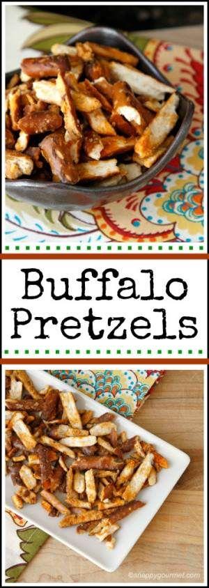 Buffalo Pretzels Recipe - Snappy Gourmet