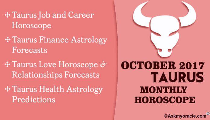 Taurus October 2017 Horoscope | Monthly Horoscope | Taurus