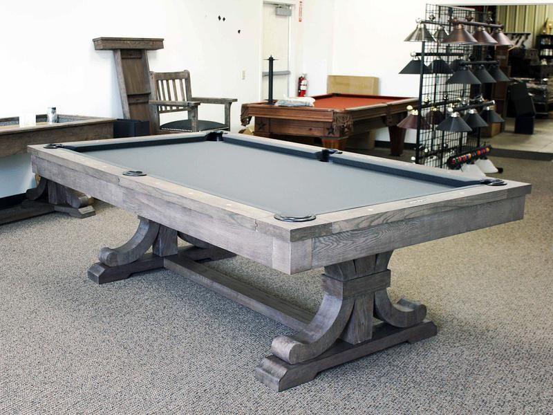 Presidential Carmel Pool Table Dining Room in 2019