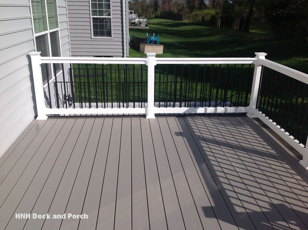 Vinyl deck using wolfbuilding seaside collection pvc Composite flooring for decks