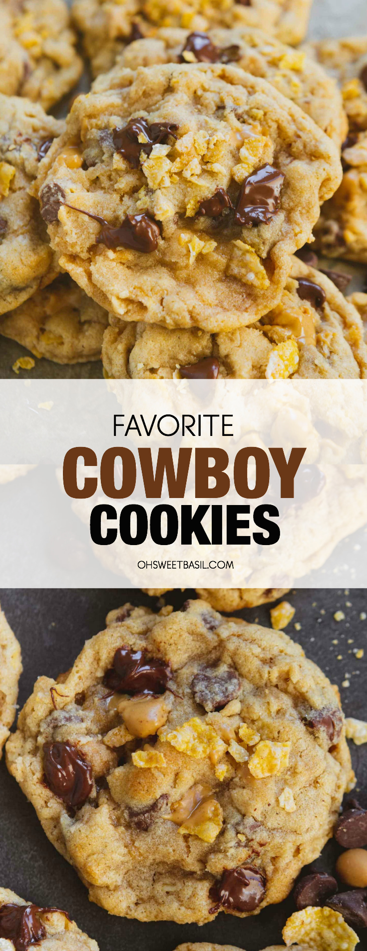 Our Favorite Cowboy Cookies (Loaded Oatmeal Cookie