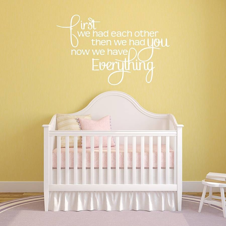 Babys Nursery Wall Sticker   Wall sticker, Nursery and Babies