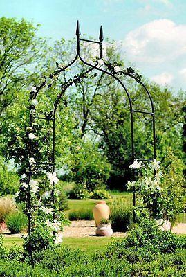 Pin By Tara Tiede On What I Want Gothic Garden Garden Arches Garden Arch Trellis