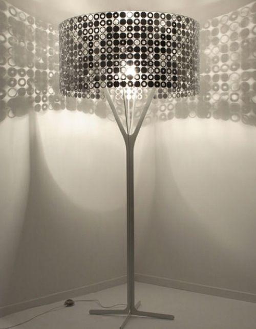 Old hollywood style metallic lamp ikea