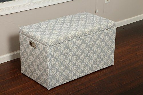 Oliver And Smith 5 Pc Cloth Storage Ottoman With Stools 3 Ottomans 2 Stools  33 X