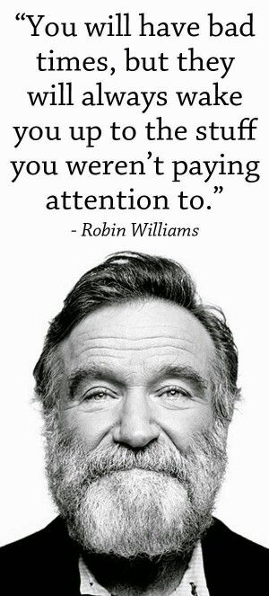 The late Robin Williams