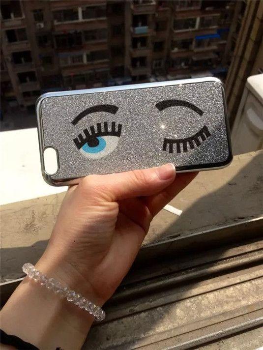 Miss Gossip zwinkernde Augen Handyhülle für iPhone 5/5S/6/6 Plus - spitzekarte.com