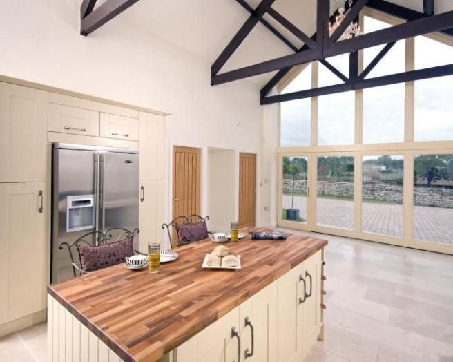 Photo Of Barn Conversion Contemporary Open Plan Kitchen Diner Part 92