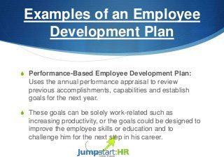 How To Develop An Employee Development Plan  Work Tips