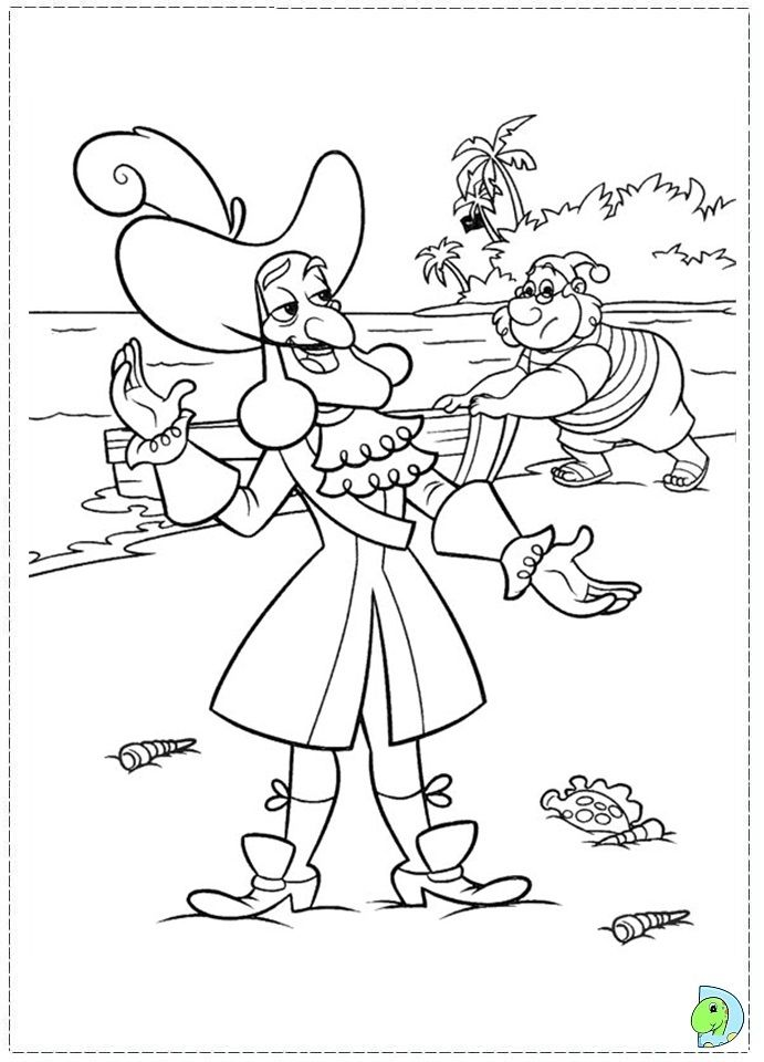 Jake And The Neverland Pirates Coloring Pages Free | Jake Coloring ...