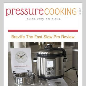 Breville The Fast Slow Pro Pressure Cooker With Automatic Steam Release Slow Cooker Recipes Instant Pot Pressure Cooker Pressure Cooking