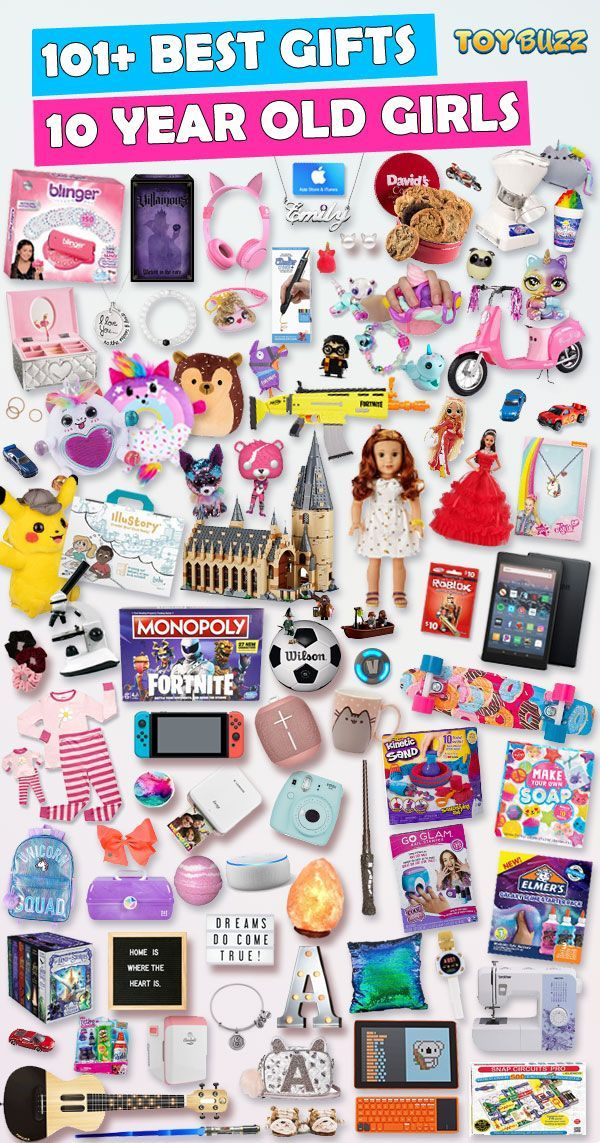 Gifts For 10 Year Old Girls 2019 List Of The Best Toys In 2020 10 Year Old Christmas Gifts Tween Girl Gifts Christmas Gifts For 10 Year Olds