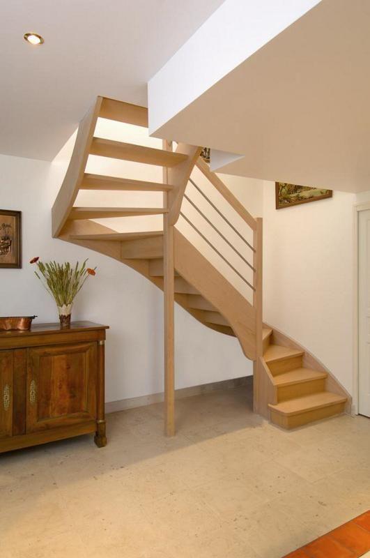 Escalissime nos escaliers escaliers bois contemporains for Petit escalier en bois