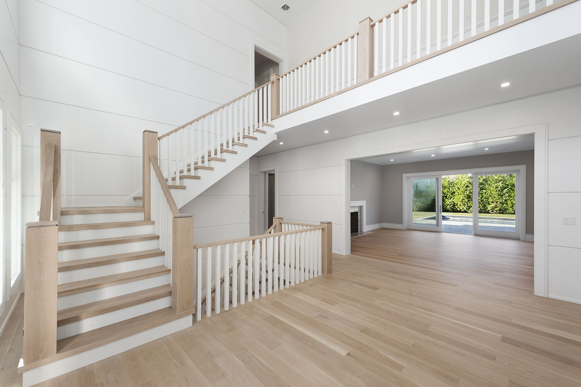 Custom Home Built by Schuttinger Building- Expansive Custom Shiplap ...