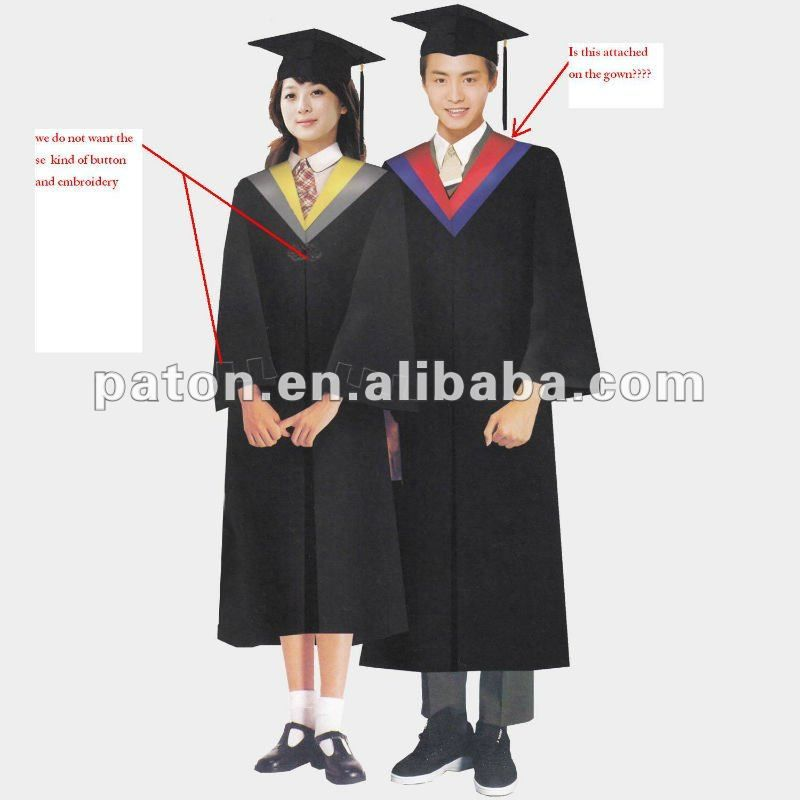 Graduation Gown SU-92 graduation gown with cap $10~$20 | Academic ...