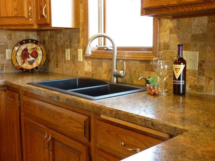 High Quality Ceramic Tile Kitchen Countertops