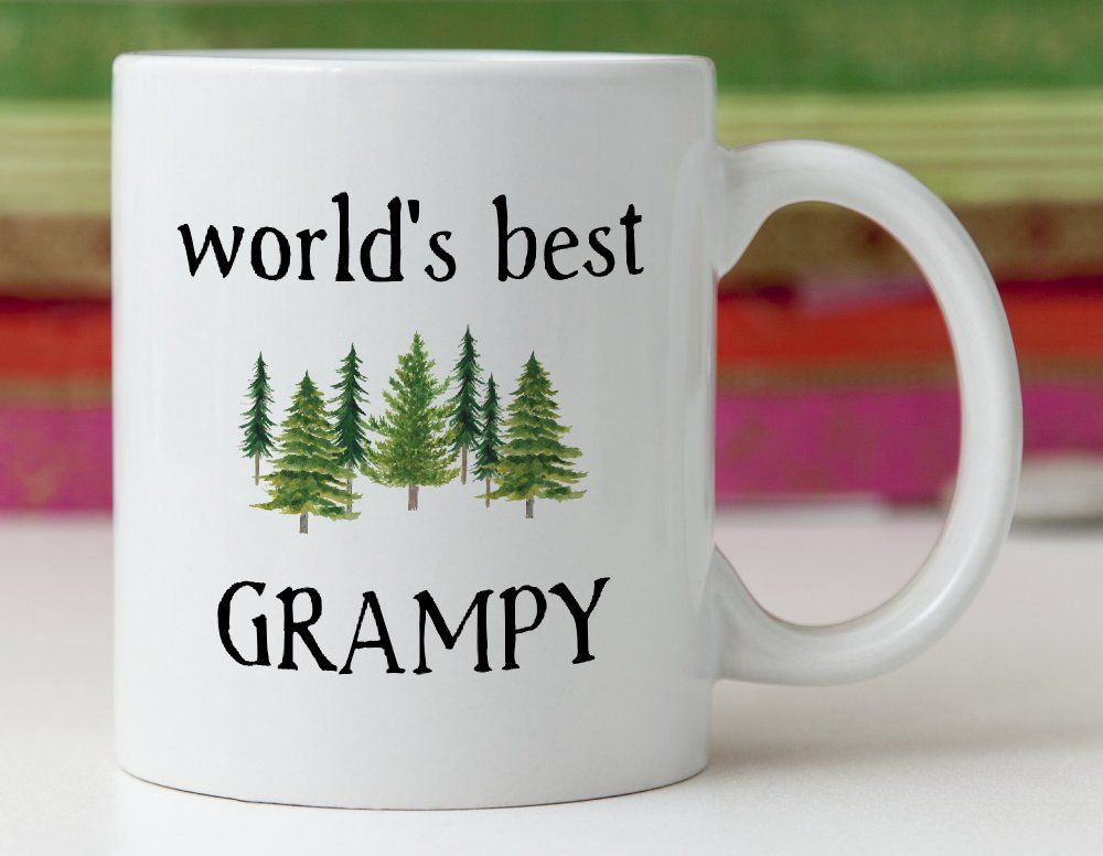 Grampy mug gift idea worlds best father in law gifts