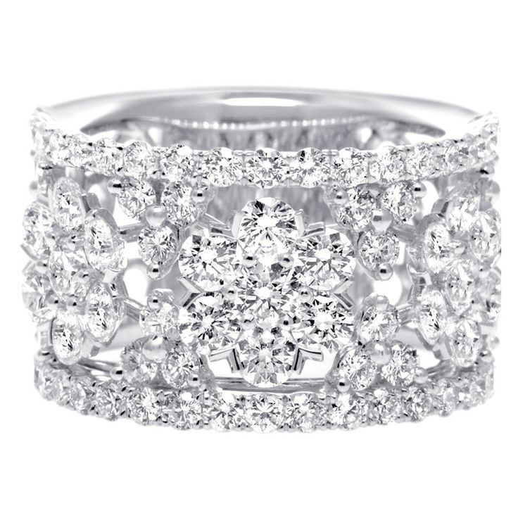 thick diamond wedding bands for women - Womens Diamond Wedding Rings