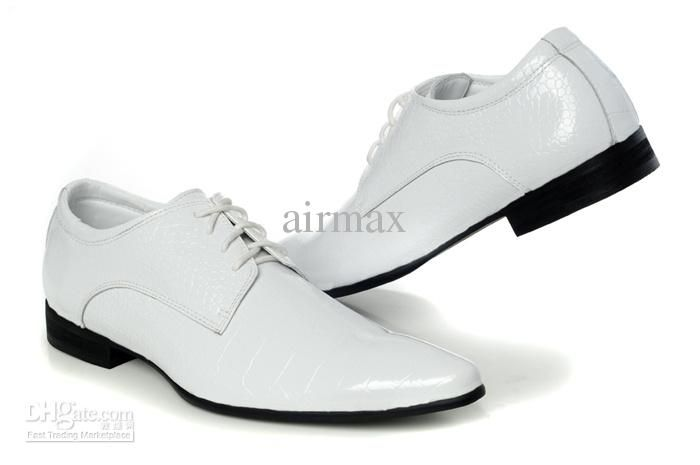 Mens White Dress Shoes - Fn Dress