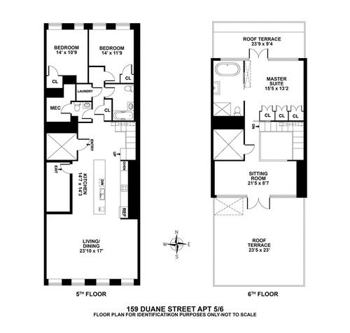 Tribeca Apartments For Rent: Tribeca Duplex Penthouse Ready For Rental-to-Sales Switch