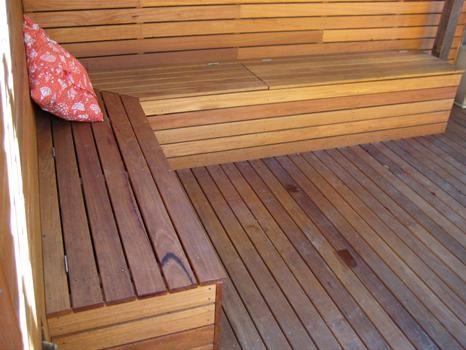 Peter Mcallister Carpentry Erskineville Nsw Outdoor Bench Seating Garden Storage Bench Outdoor Storage Bench
