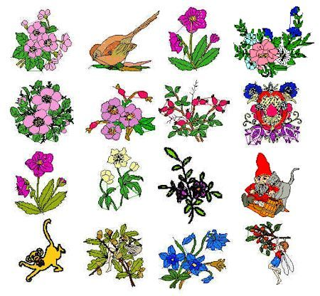 Embroidery Patterns Free Downloads Collection Of Free Floral