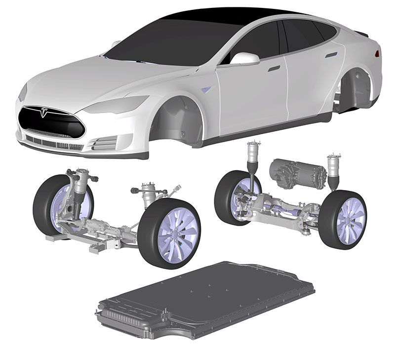 Tesla Model S Package Drawing Google Search Project Alfa