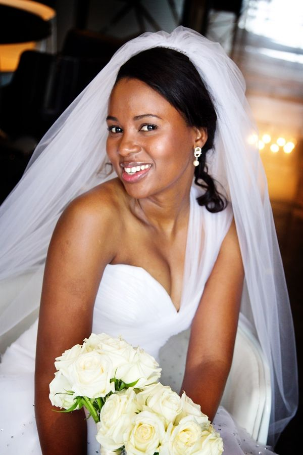 Modern Gold and Cream South African Wedding | Natural hair ...