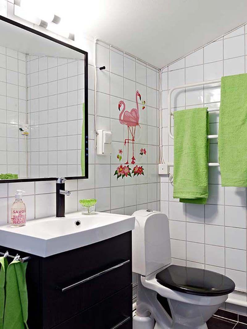 Modern Black and White Bathroom Ideas for