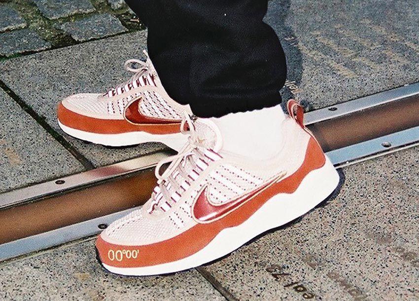top quality uk cheap sale run shoes Nike Air Zoom Spiridon UK GMT Pack Desert Sand Aj6300-200 ...