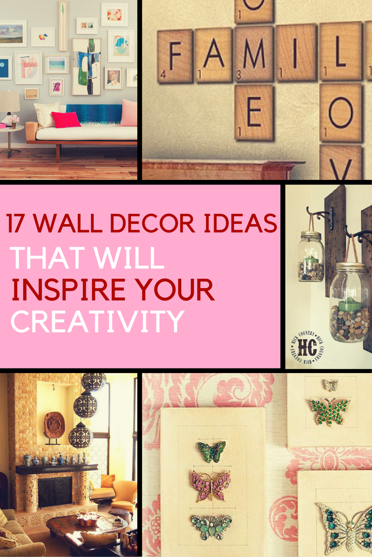 wall decor ideas inspire your creativity with these 17 decorating rh pinterest co uk