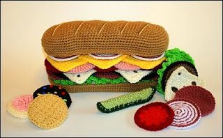 Alimentos tejidos a crochet | Solountip.com