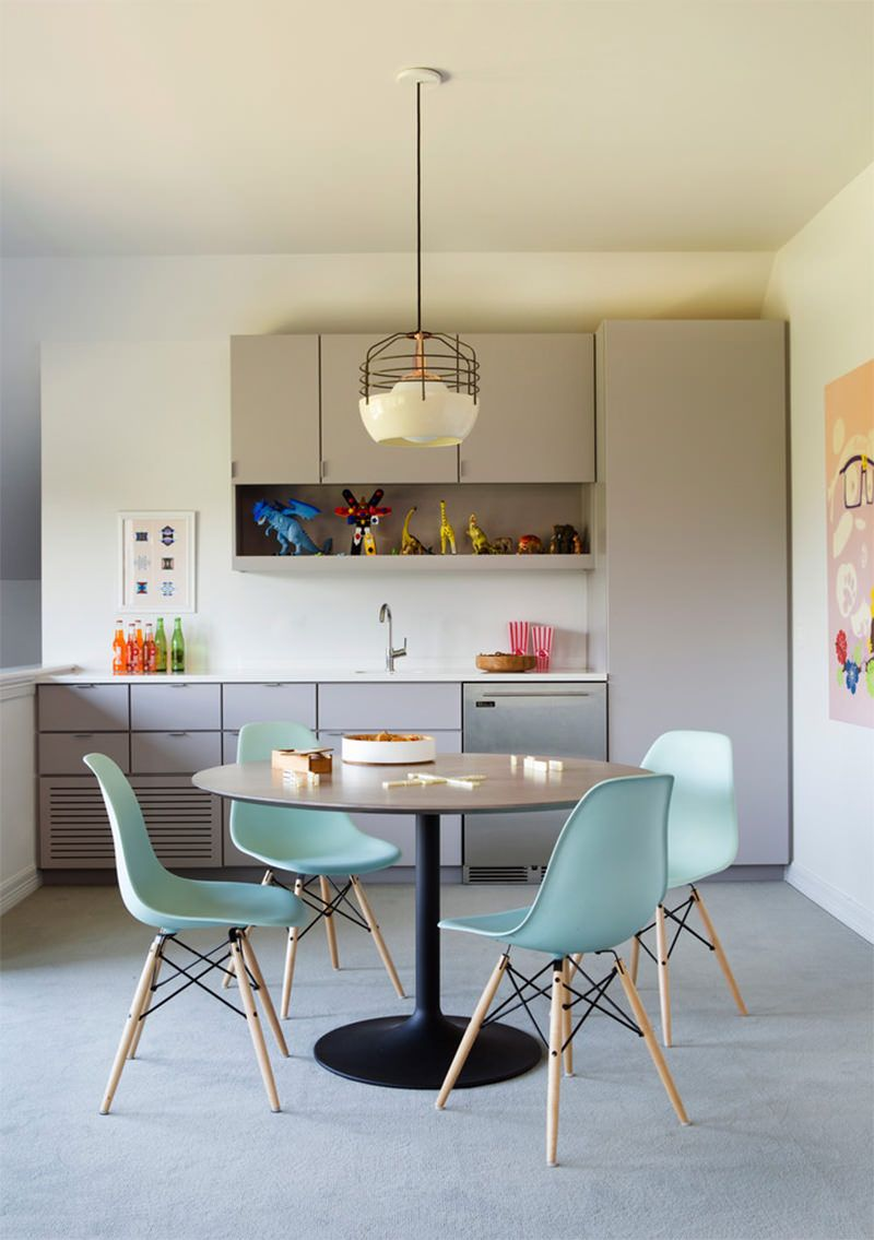 Mid Century Modern Dining Room Decor Light Fixtures