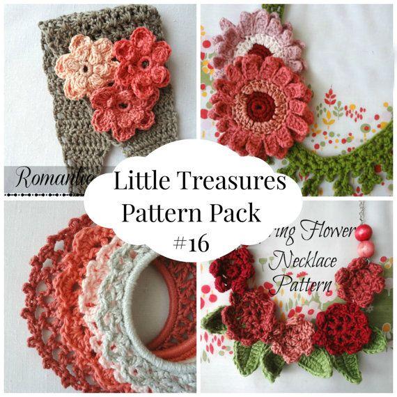 Ganchillo PDF patrón descuento Pack #16-4 PDF patrones, crochet ...