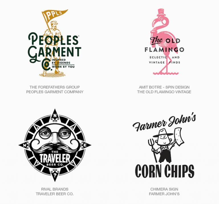 Top Logo Design Trends Neo Vintage Logo Design Trends Cool Logo Best Logo Design