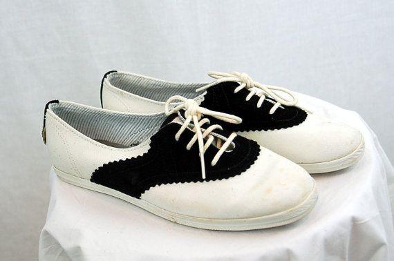 Vintage saddle shoes Keds saddle shoes