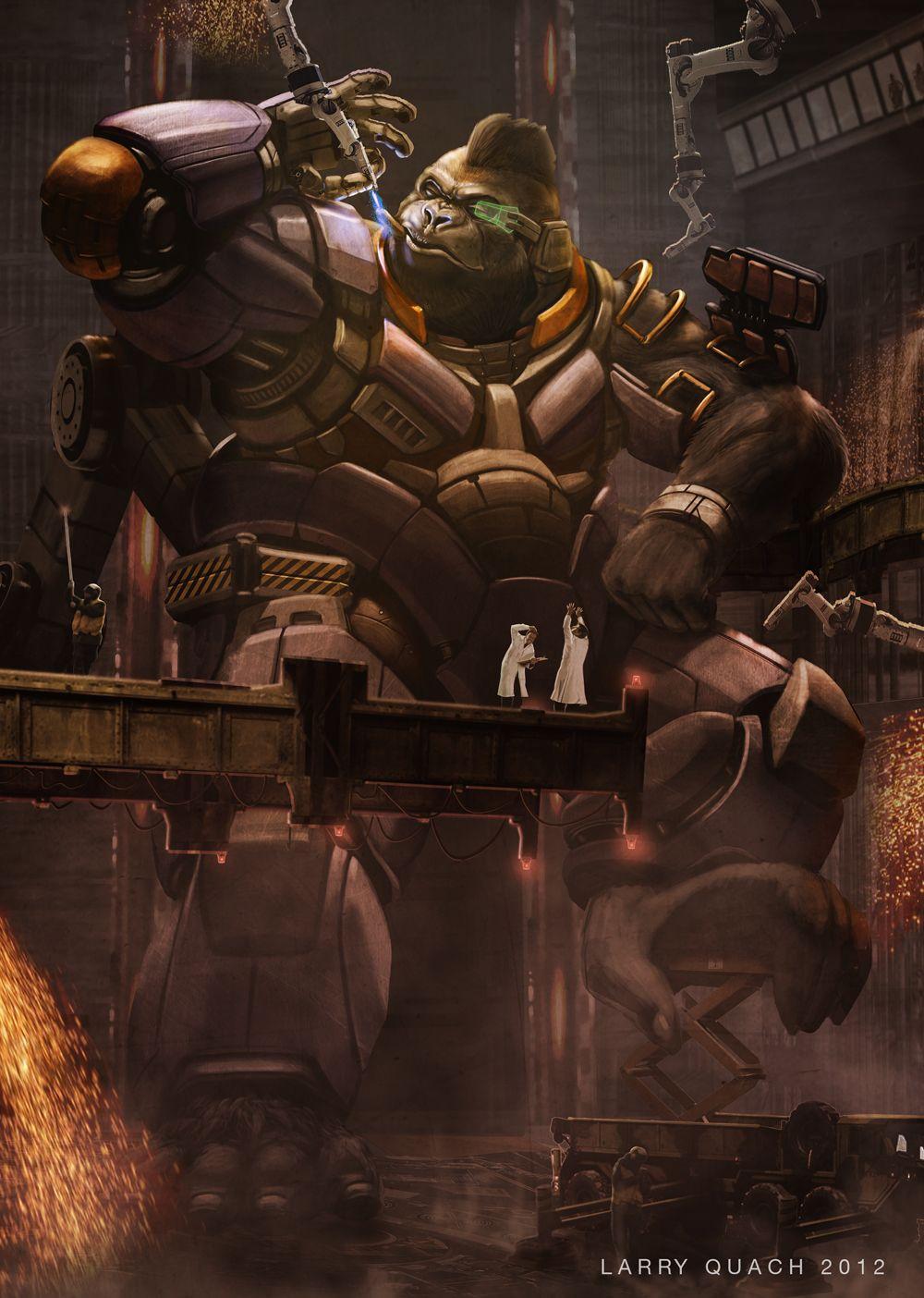 Robo Kong by Larry Quach