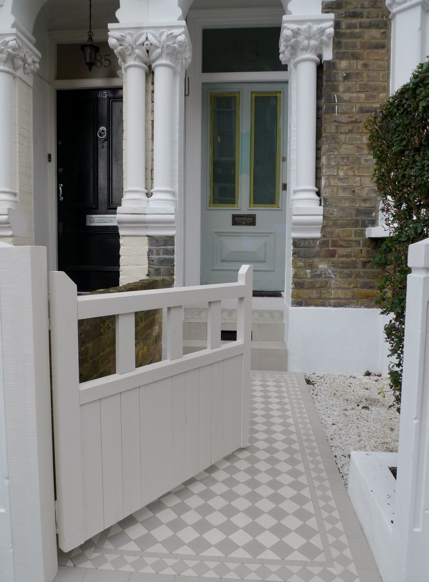 Front Garden Ideas London front garden design battersea clapham balham london | period homes