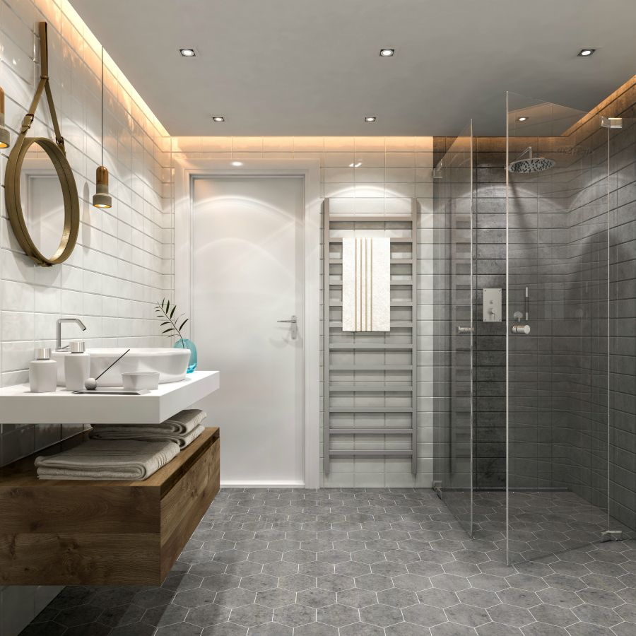 Bathroom Trends 2019 2020 Designs Colors And Tile Ideas Interiorzine Ceramicinteriordesign Bathroom Trends Bathroom Design Trends Trendy Bathroom
