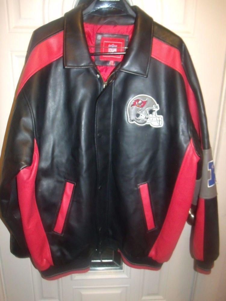 G-III Apparel NFL Tampa Bay Buccaneers Bucs Football Jacket Coat XXL 2XL   GIII… d411ef12e